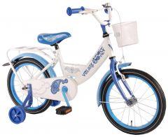 Bicicleta Volare Paisley, pentru fete, 16 inch, cu roti ajutatoare, reglabila, 95% asamblata