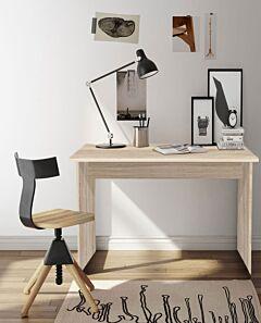 Birou Lara Office, Stejar Ferrara, 90x50x75 cm
