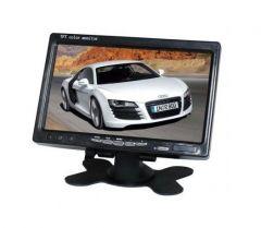 Display auto LCD 7″ 12V – 24V D707 cu telecomanda si rama montaj perete