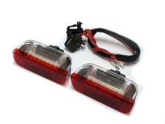 Lampi cu LED Portiera Spate VW, SEAT, SKODA Alb/Rosu