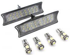 Set Plafoniere LED Fata dedicate BMW E60, E65, E87