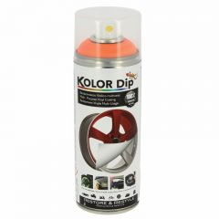 Spray Vopsea Cauciucata Kolor Dip 400ml Orange