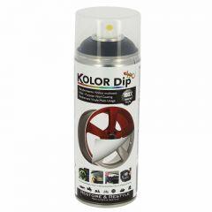 Spray Vopsea Cauciucata Kolor Dip 400ml Negru Mat