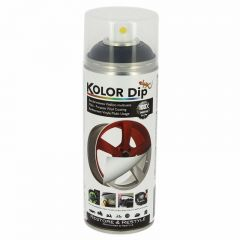 Spray Vopsea Cauciucata Kolor Dip 400ml Negru Metalizat