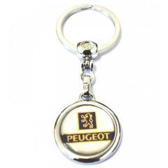 Breloc cheie Peugeot tip 2