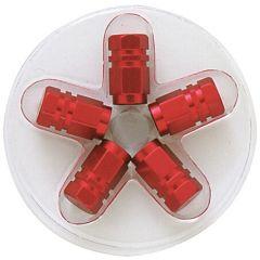 Capace valva roata hexagonal din aluminiu - Rosii