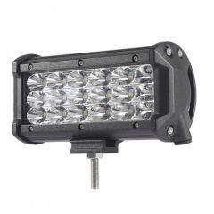 """LED Bar Auto 54W, leduri pe 3 randuri, 12V-24V, 3780 Lumeni, 5""""/12,7 cm, Combo Beam 12/60 Grade"""