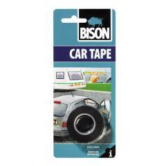 BISON Car Tape Bandă dublu adezivă pentru auto, 1,5mx19mm