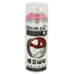 Spray Vopsea Cauciucata Kolor Dip 400ml Roz