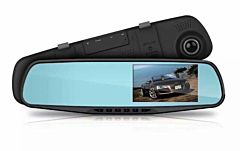 "Camera auto DVR in oglinda retrovizoare,FULL HD, Ecran LCD de 2,8 "" Night Vision, Foto, Playback, Senzor G"
