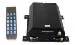 DVR auto cu 4 canale 12V/24V cu inregistrare pe hard disk si card SD