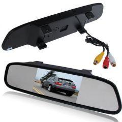 Display auto LCD 4.3″ pe oglinda retrovizoare