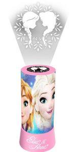 Lampa Euroswan cu proiector Frozen