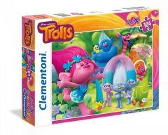 Puzzle Clementoni 104 piese Trolii Mania