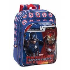 Ghiozdan scoala Captain America  - Civil War 42 cm Joumma Bags