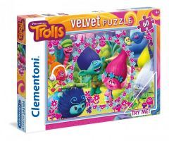 Puzzle Clementoni Velvet Trolls 60 piese