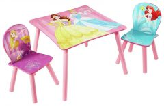 Set masuta cu scaunele Disney Princess