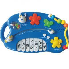 Jucarie muzicala Pian Baby Mix 18m+ albastru