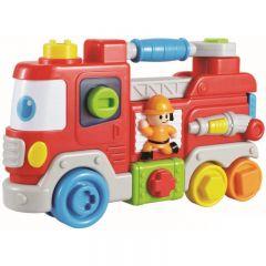 Jucarie interactiva Baby Mix Camionul pompierilor