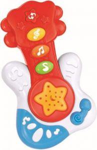 Jucarie muzicala chitara Baby Mix Rosu