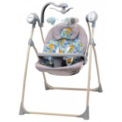 Leagan Electric Baby Mix cu muzica SW102 Dino