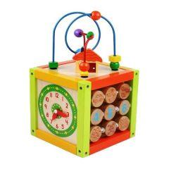 Cub din lemn Baby Mix TP-52337