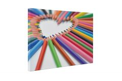 Creioane colorate - Tablou Canvas - 4Decor