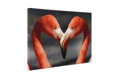 Pasari flamingo - Tablou Canvas - 4Decor