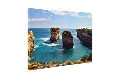 Munti pe malul marii - Tablou Canvas - 4Decor