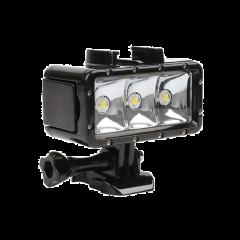 Lampa LED pentru filmari subacvatice cu camere video sport