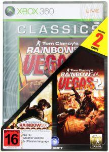 Joc Compilation Rainbow Six Vegas 1 + 2 Pentru Xbox 360