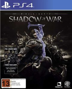 Joc Middle Earth:shadow Of War Pentru Playstation 4