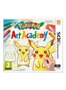 Joc Pokemon Art Academy En Eu Pegi Pokemon Art Academy En Eu Pegi Pentru Nintendo 3ds