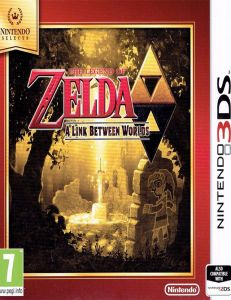 Joc The Legend Of Zelda: A Link Between Worlds Selec The Legend Of Zelda: A Link Between Worlds Selects Pentru Nintendo 3ds