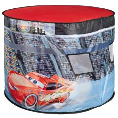 Cort de joaca John Cars cu lampa 110x87x75 cm