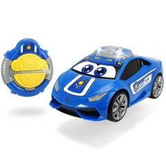Masina Dickie Toys Happy Police Lamborghini Huracan cu telecomanda