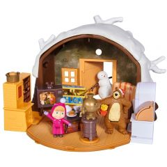 Jucarie Simba Masha and the Bear Winter Bear's House
