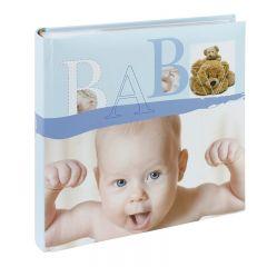 Album foto Baby Vital, 200 poze 10x15 cm, memo, slip-in, culoare albastru