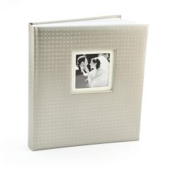 Album foto We gri, 60 pagini, 29x32 cm, foto autoadezive