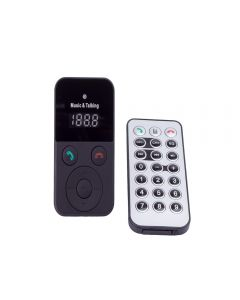 Modulator FM, bluetooth, MP3 player, handsfree, ecran LCD, microSD, telecomanda, Sal