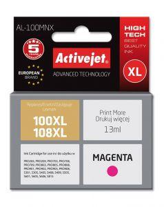 Cartus compatibil 100XL 108XL magenta pentru Lexmark 14N1070E, 13 ml, Premium Activejet, Garantie 5 ani