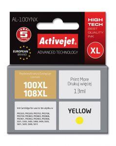 Cartus compatibil 100XL 108XL yellow pentru Lexmark 14N1071E, 13 ml, Premium Activejet, Garantie 5 ani