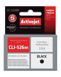 Cartus compatibil CLI-526Bk Black pentru Canon, 10 ml, Premium Activejet, Garantie 5 ani
