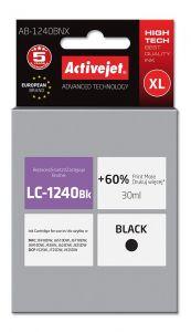 Cartus compatibil LC1240Bk Black pentru Brother, Premium Activejet, Garantie 5 ani