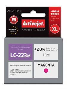 Cartus compatibil LC223 Magenta pentru Brother, Premium Activejet, Garantie 5 ani