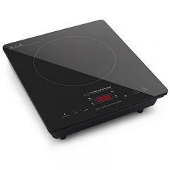 Plita inductie Esperanza, 2000W, 4 functii, panou control touch LCD, portabila, Negru
