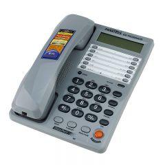 Telefon fix Panatel, memorie 500 numere, afisare ID apelant, FSK/DTMF, ecran LCD