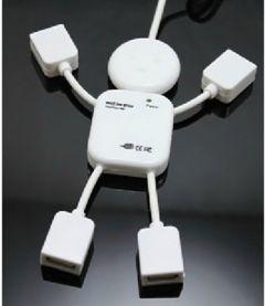 Hub 4 porturi, USB 2.0, model figurina