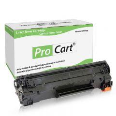 Cartus toner compatibil HP 17A CF217A, Black, 1600 pagini, Procart