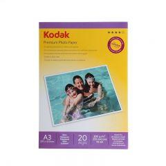 Hartie Foto Kodak Glossy 200g/m2, A3, 20 coli